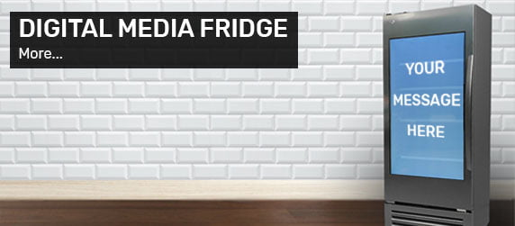 Digital Media Fridge